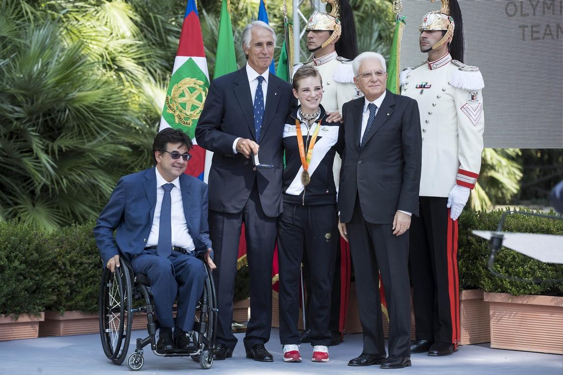 Olimpiadi, Mattarella premia gli atleti di Rio 2016