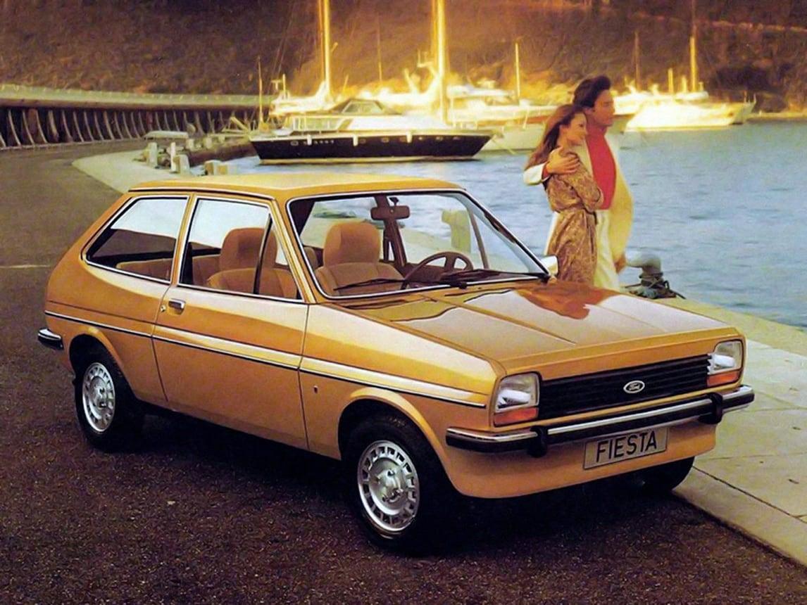 La Ford Fiesta celebra 40 anni