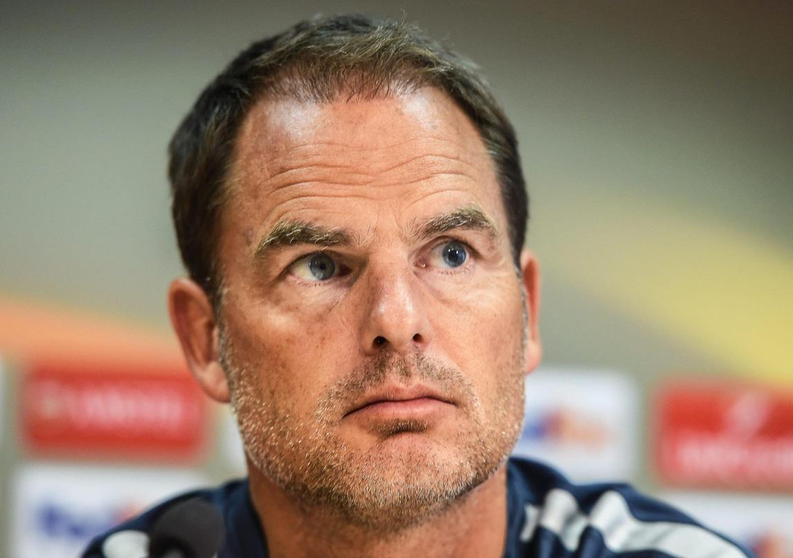 De Boer: «Contro lo Sparta un'Inter molto forte»