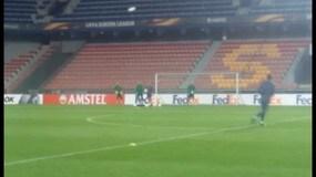 De Boer si allena con l'Inter