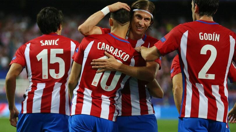 Champions League, vincono Atletico Madrid, Arsenal e Barcellona. Ko il Bayern Monaco. Pari Manchester City