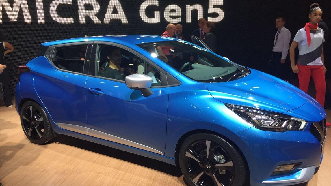 Nissan Micra 2017 live parigi: foto