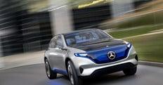 Mercedes stupisce Parigi con il Suv elettrico di domani