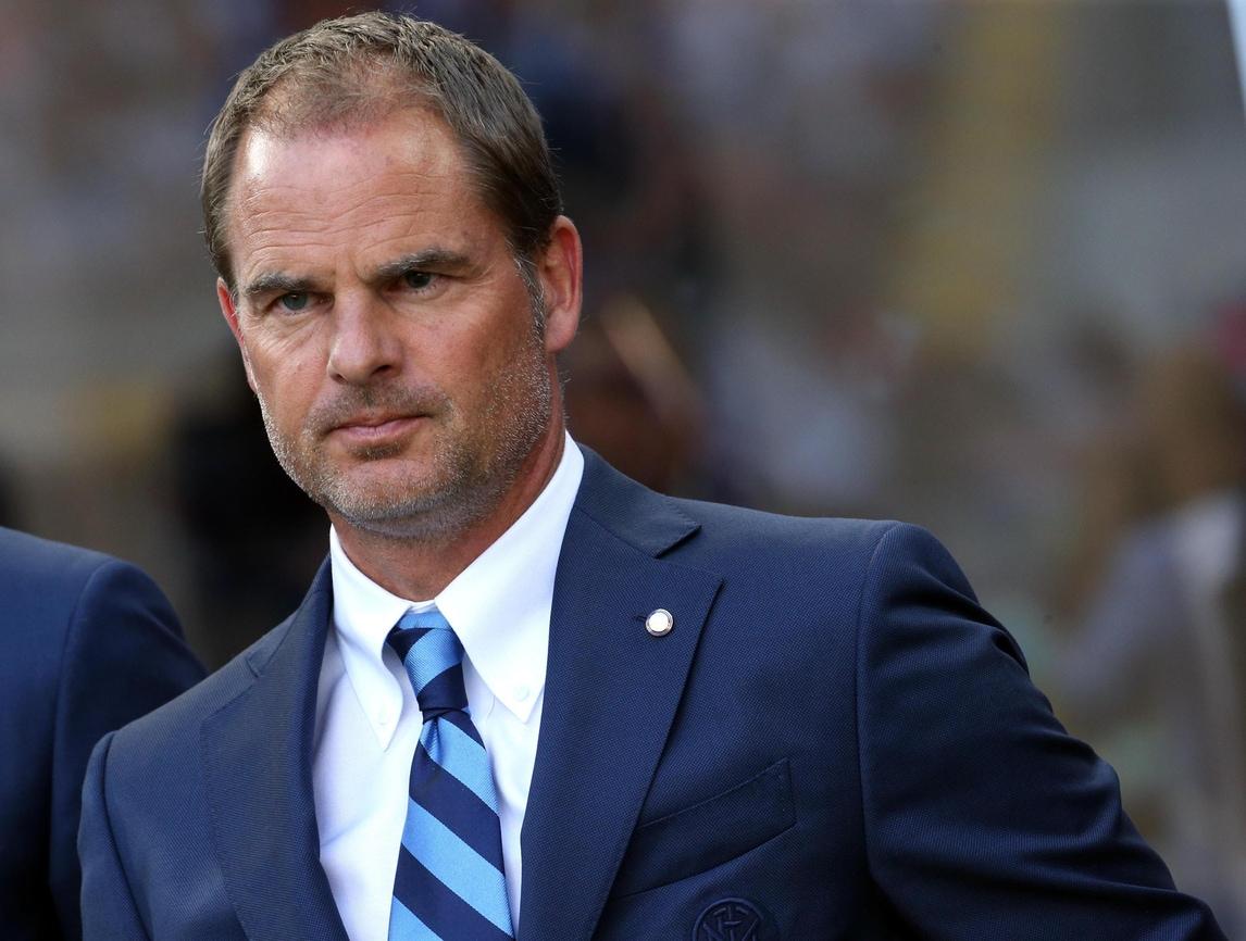 Europa League Inter, De Boer: «L'esonero? C'è un progetto, miglioreremo»