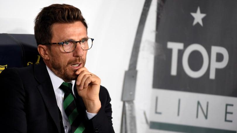 Europa League Sassuolo, Di Francesco: «Per me il rigore era netto»