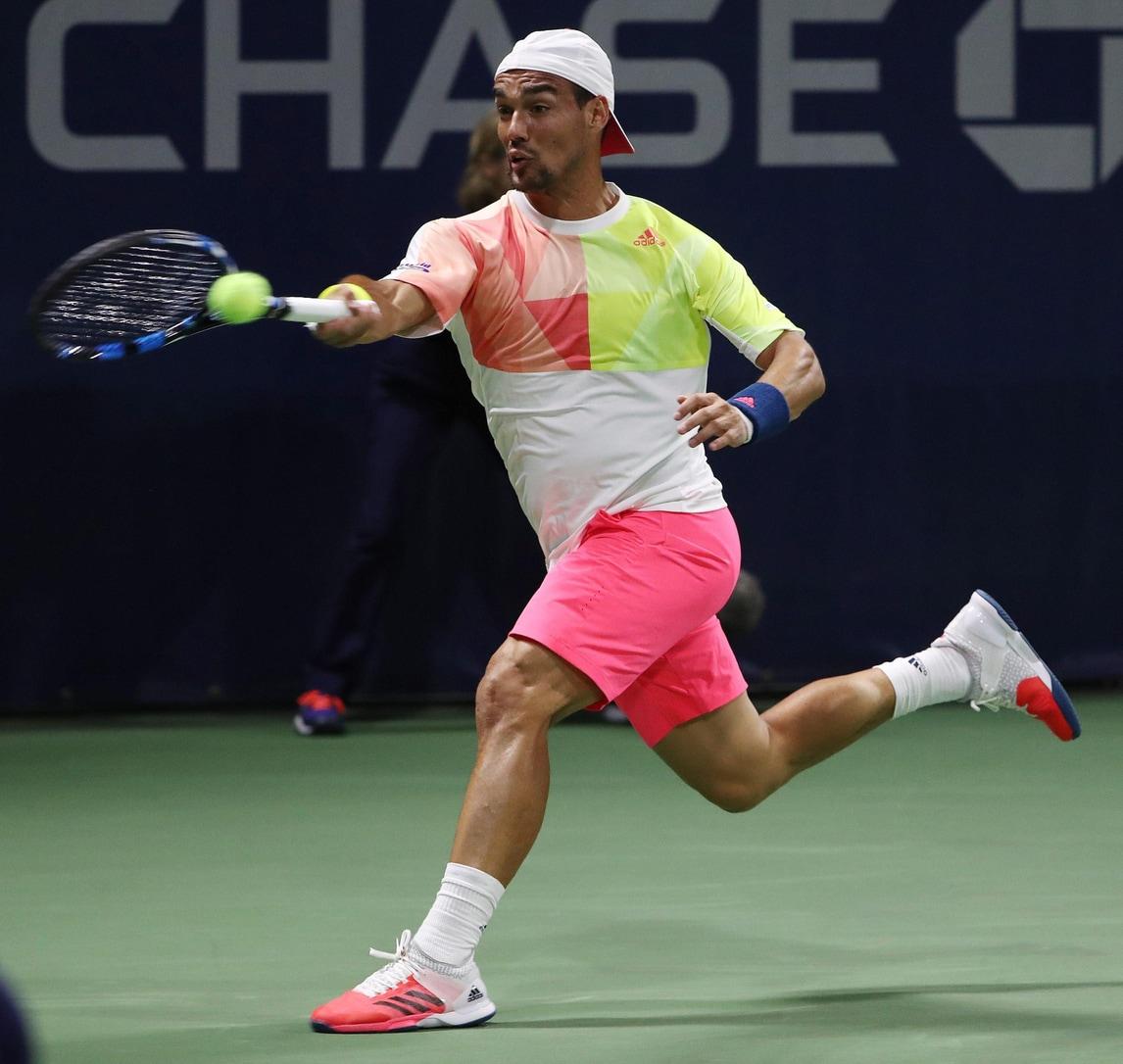 Tennis, Atp Shenzhen: Fognini in finale nel doppio
