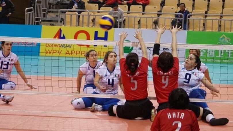 Sitting Volley: l' Italia in campo domani contro la Croazia