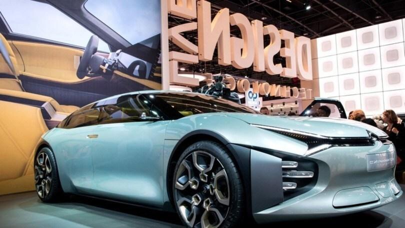 Citroen Cxperience concept, a Parigi si guarda al futuro