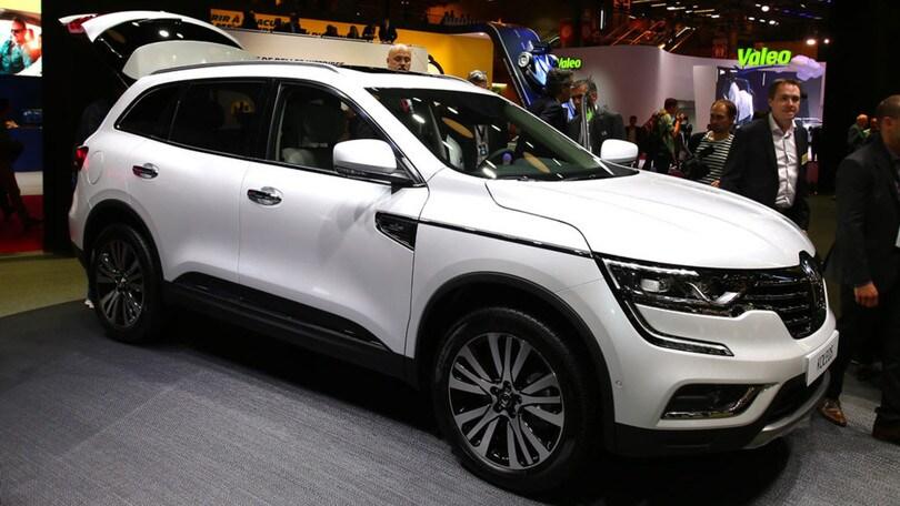 Renault Koleos, il nuovo SUV al Salone di Parigi