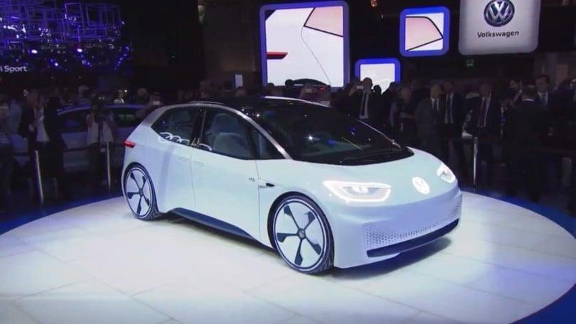 La Volkswagen elettrica del futuro al Salone di Parigi