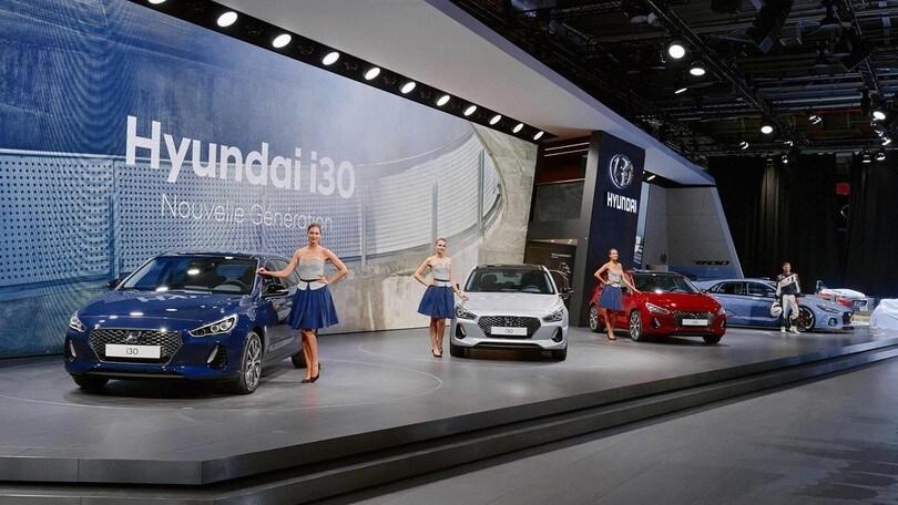 Hyundai i30, a Parigi la terza generazione della compatta