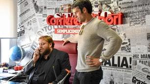 Luca Argentero e Stefano Fresi protagonisti al Corriere dello Sport-Stadio