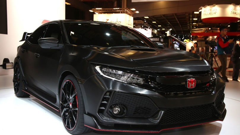 Honda Civic Type R, come un tuono verso Parigi