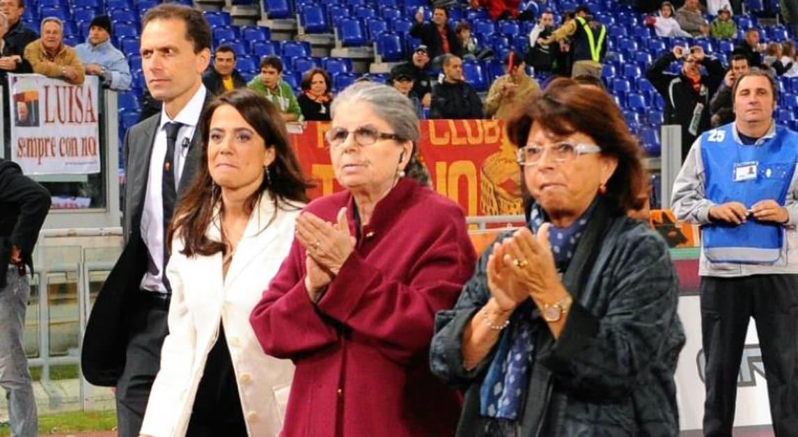 Serie A Roma, Maria Sensi: «Totti mi ha deluso come uomo»