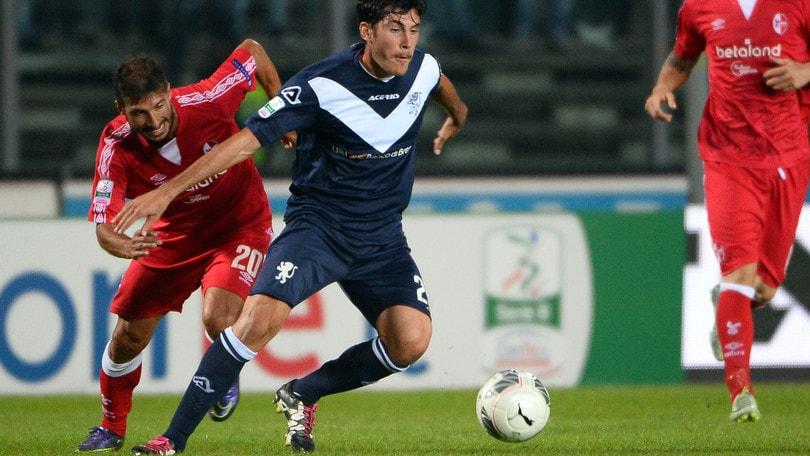 Serie B Bari-Brescia 1-1: Brienza replica a Caracciolo