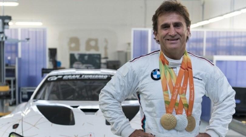 Invincibile Alex Zanardi, torna in pista a 50 anni