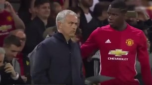 Mourinho, che lite con il vice per le indicazioni a Pogba