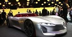 Renault Trezor, il concept elettrico debutta a Parigi