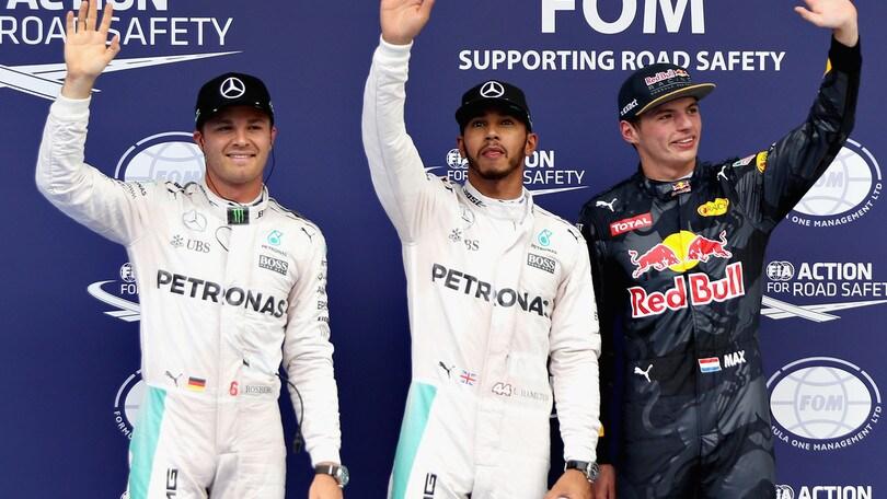F1 Mercedes, Hamilton: «Miglior vettura mai avuta»