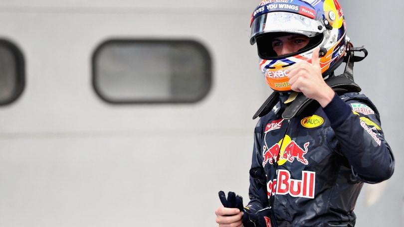 F1 Red Bull, Verstappen: «È un weekend molto positivo»