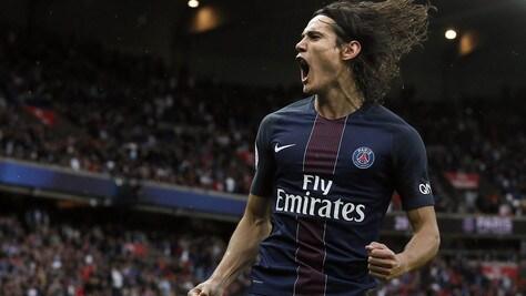 Calciomercato dalla Francia: «Cavani non rinnova con il Psg»