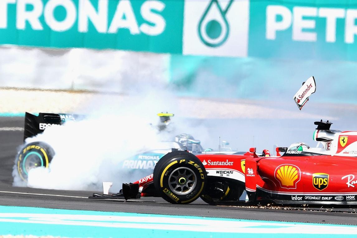 F1 Ferrari, Vettel out in Malesia: «Verstappen? No comment»