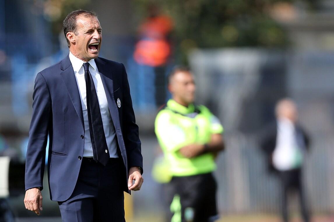 Juventus, Allegri: «Stiamo migliorando, penso al tridente»
