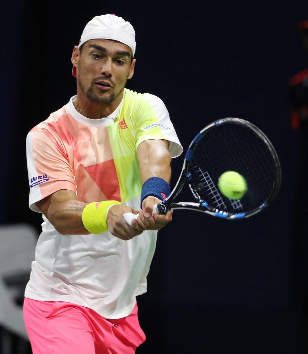 Tennis Atp Shenzen: Fognini trionfa nel doppio