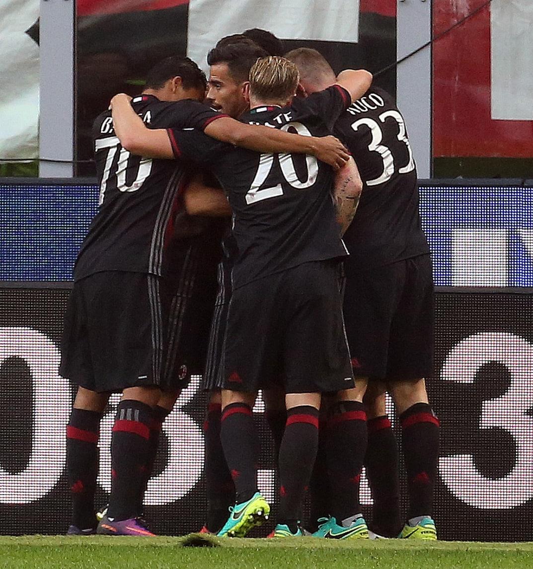 Serie A, Milan-Sassuolo 4-3. Apre Bonaventura, chiude Paletta in rimonta