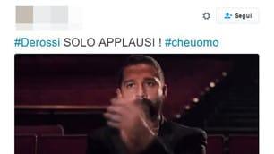 De Rossi, l'esultanza rabbiosa divide i tifosi sui social