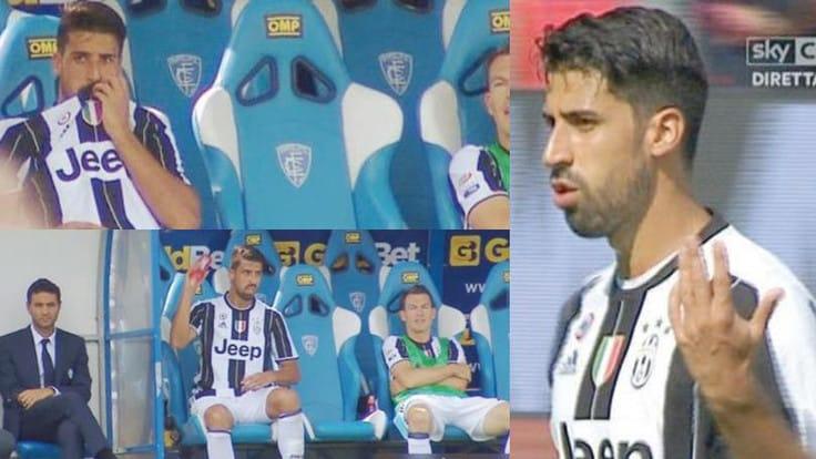 Serie A Juventus: Allegri, a Khedira zero in condotta