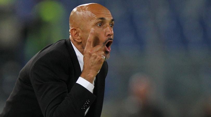 Roma, Spalletti: «Sarri sulla Juventus? E' sveglio, ha il suo fine»