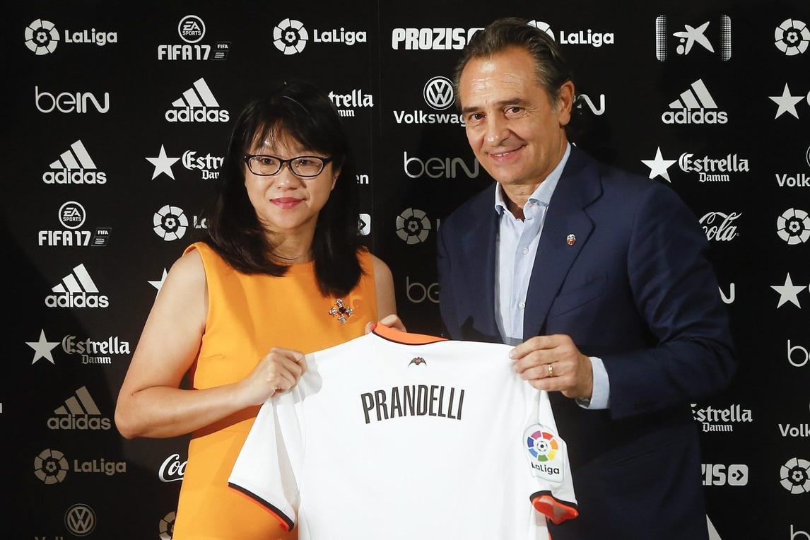 """Prandelli: """"Voglio riportare il Valencia in Champions League"""""""