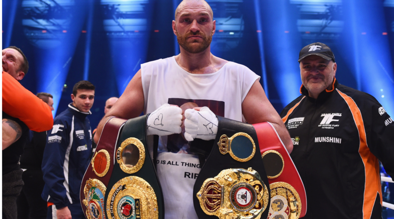 Boxe, ritiro beffa di Tyson Fury: «Il pugilato è la cosa più triste»