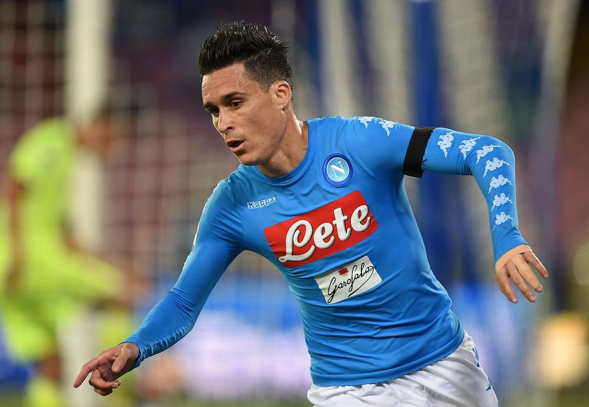 Serie A, Callejon: «A Napoli sono molto felice, ho un contratto lungo»