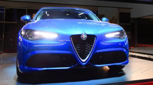 Alfa Romeo Giulia Veloce al Salone di Parigi 2016