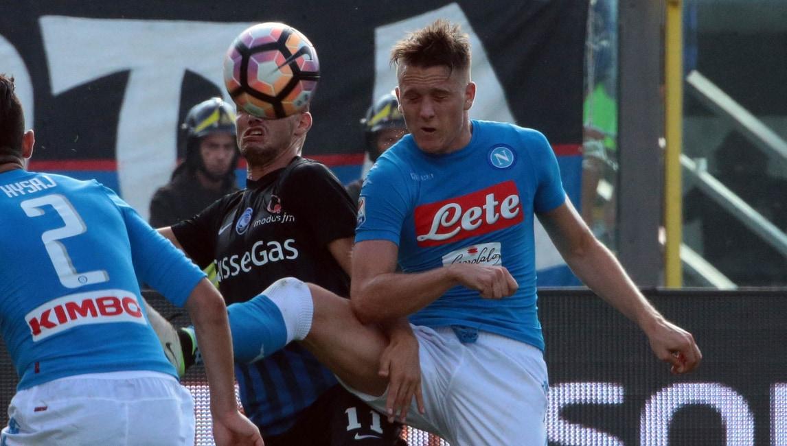 Zielinski: «Napoli super e con Milik l'intesa cresce»