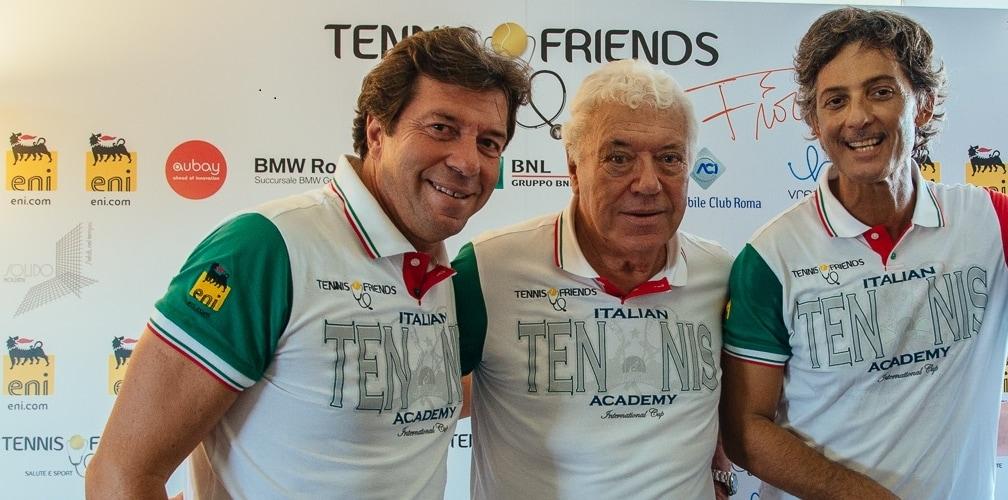 Tennis & Friends, la sesta edizione l'8 e il 9 ottobre al Foro Italico