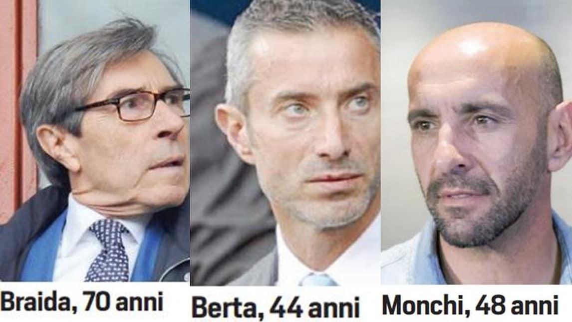 Serie A Roma, nuovo ds: Berta, Braida e Monchi. Ecco i profili dei candidati