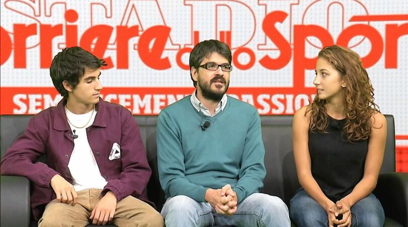 Piuma, intervista a regista e cast al Corriere dello Sport.it