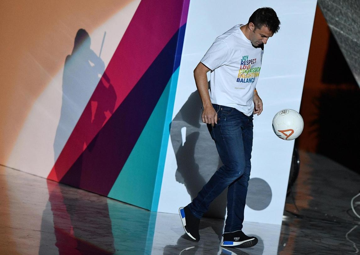 Convegno fede e sport, Del Piero: «Ho inseguito i sogni con umiltà»