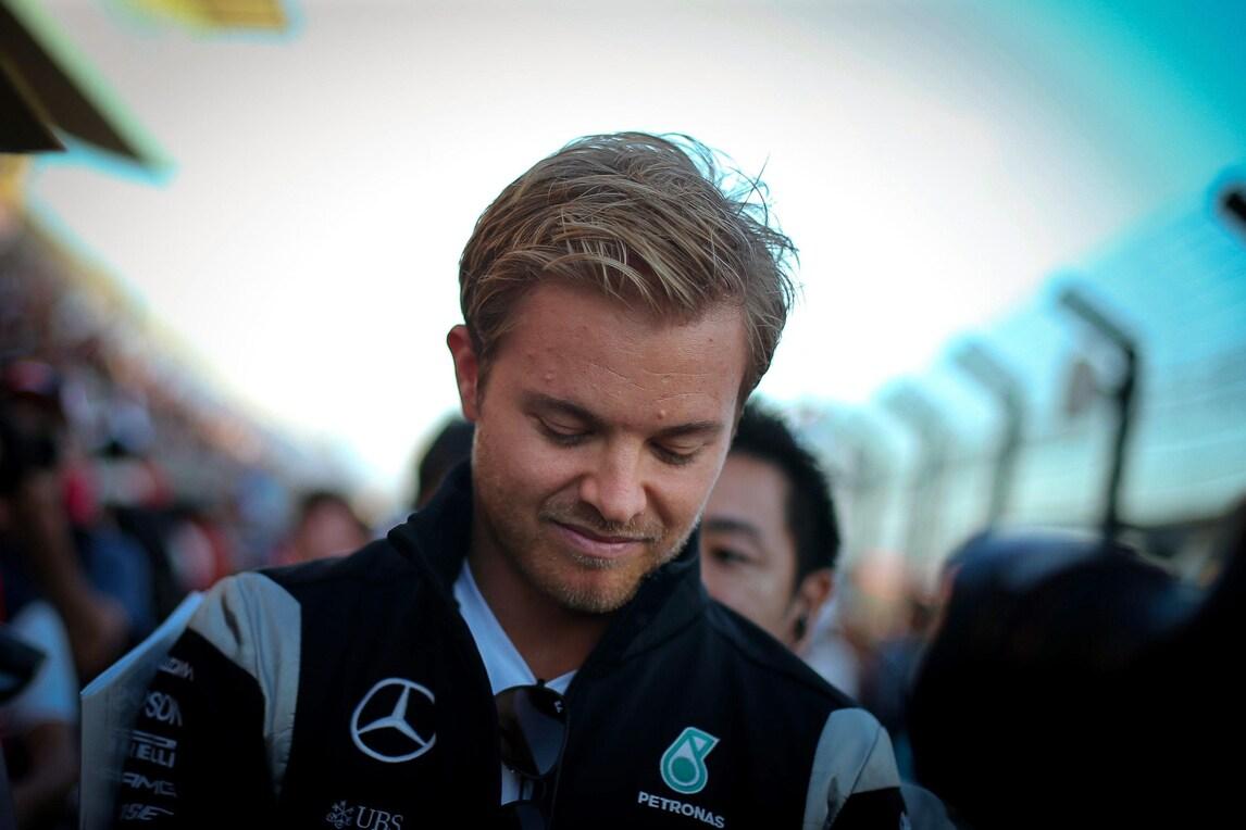 F1 Giappone, Rosberg: «Penso solo alla gara»