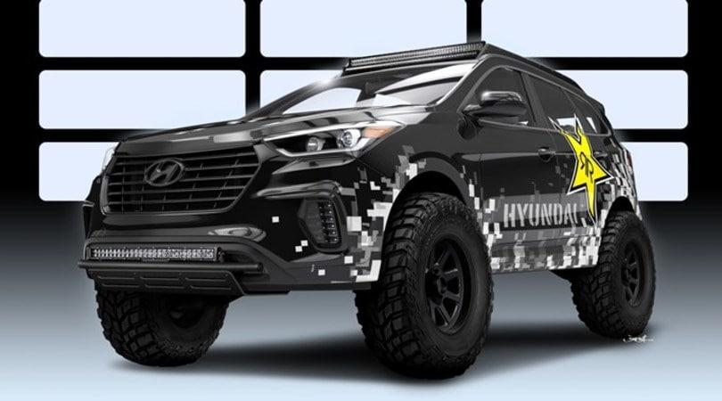 Hyundai Santa Fe diventa un mostro da 1000 cv