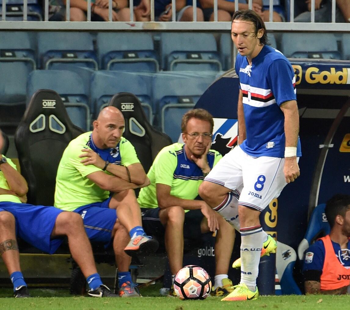 Serie A Sampdoria, si ferma anche Barreto