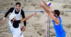Beach Volley: Lupo-Nicolai e Ranghieri-Carambula si sfidano a Roma