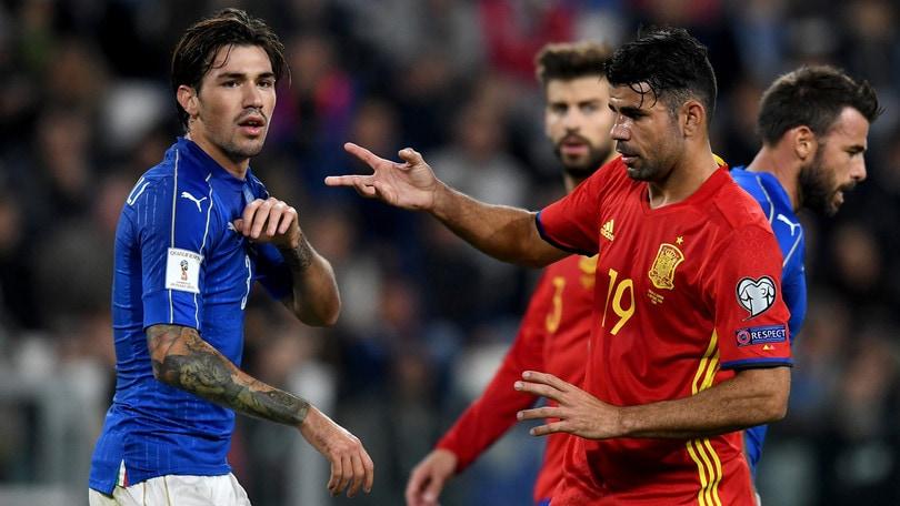 Moviola Italia-Spagna,Brych disastroso: Diego Costa graziato tre volte