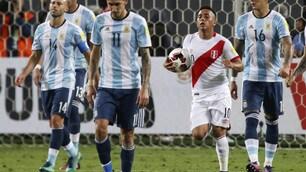 Mondiali 2018, Argentina: Higuain gol, ma col Perù è 2-2