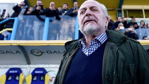 Serie A Napoli, De Laurentiis: «Basta polemiche nel calcio»