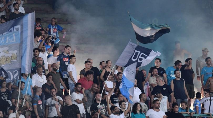 Il Casms ha deciso: Napoli-Roma senza i tifosi giallorossi