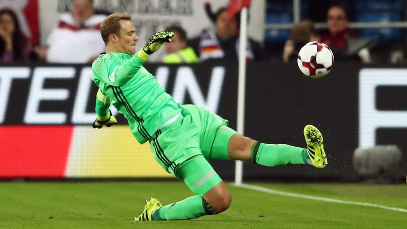 Qualificazioni mondiali: Germania-Repubblica Ceca, l'«1» a quota facile